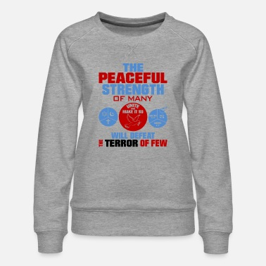 United against terrorism - Women's Premium Sweatshirt