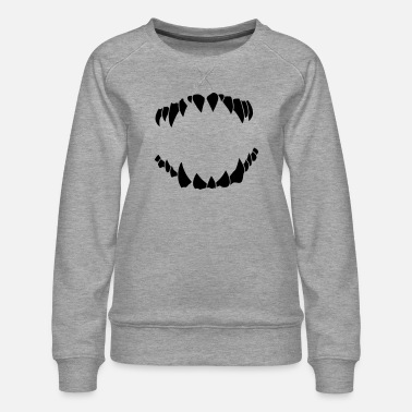 Teeth teeth - Women's Premium Sweatshirt