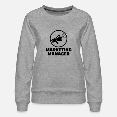 Marketing Manager Marketing manager - Vrouwen premium sweater