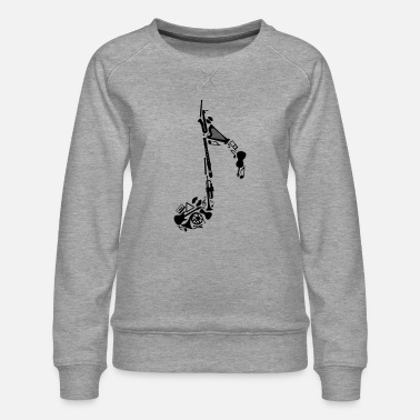 Instrument Notes of musical instruments - Women's Premium Sweatshirt