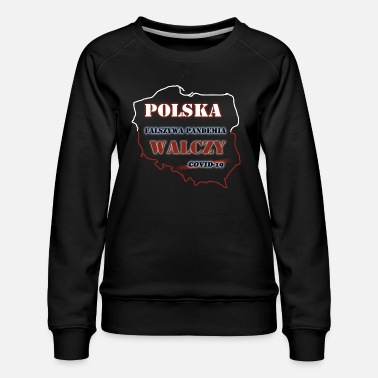 Fake Poland is fighting8 - Women's Premium Sweatshirt