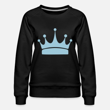 Crown for winners, print and design a T-shirt - Women's Premium Sweatshirt