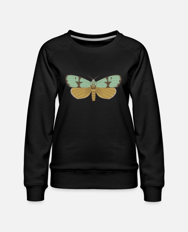 Garden Hoodies & Sweatshirts - Butterfly 115 - Women's Premium Sweatshirt black