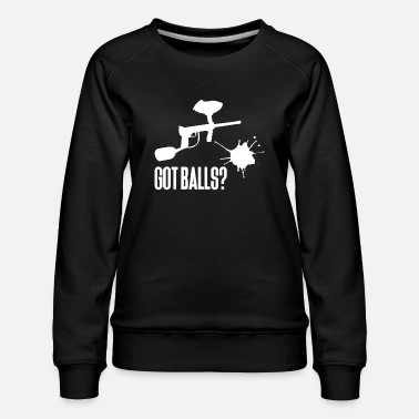 Paintball Paintball - Paintballer - Paint - Paintball våben - Dame premium sweatshirt