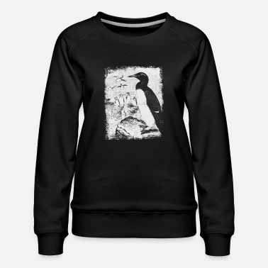 Snow penguin - Women's Premium Sweatshirt