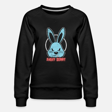 Knaagdier Bad Rabbit Horror Halloween Pasen - Vrouwen premium sweater