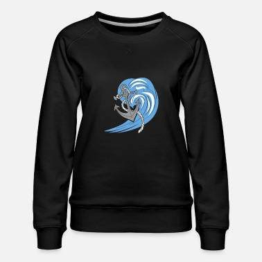 still in the sea - Women's Premium Sweatshirt