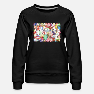 Frankenstein Monsters - Women's Premium Sweatshirt