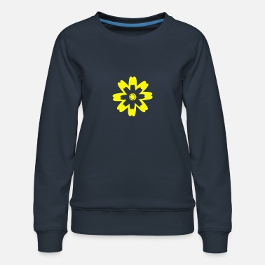 Flora Flower bloom garden plant gift - Women's Premium Sweatshirt