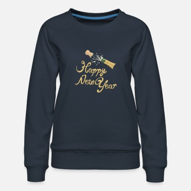 New Happy New Year - Frauen Premium Pullover