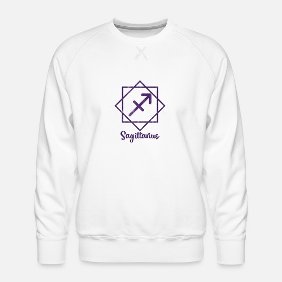 Skytten Skytten Zodiac Premium genser for menn | Spreadshirt