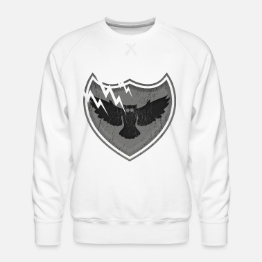 Crest Owls on the crest - owls on the crest - Men's Premium Sweatshirt