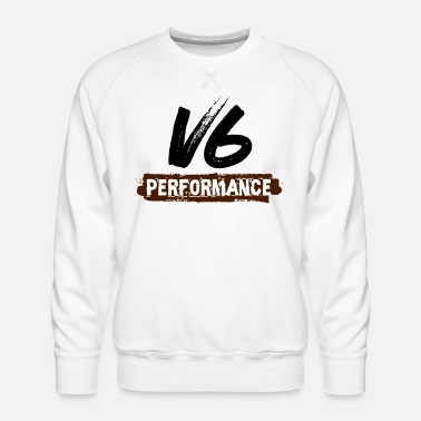 Performance Performances du V6 - Sweat ras-du-cou Premium Homme