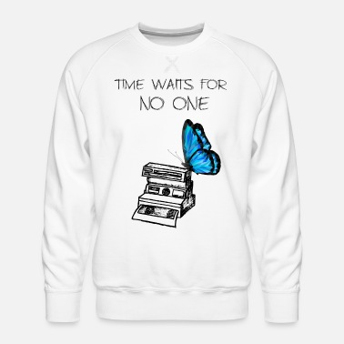 Strange Life Is Strange : Time Waits For No One - Sweat ras-du-cou Premium Homme