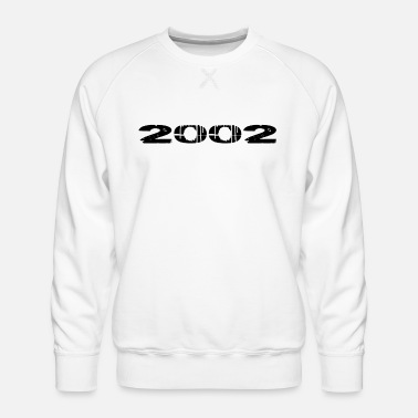 Birth 2002 year of birth - Men's Premium Sweatshirt