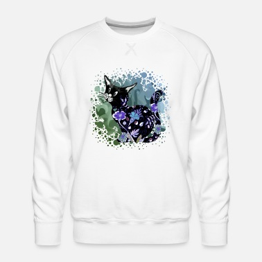 Symbol Cat - Men's Premium Sweatshirt