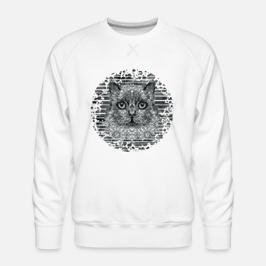 Children Cat - Men's Premium Sweatshirt