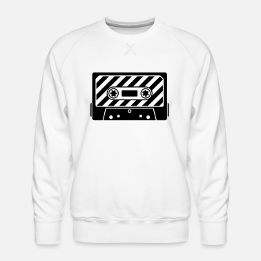 Audio Audio Tape - Herre premium sweatshirt