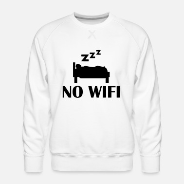 Wifi no wifi - Men's Premium Sweatshirt