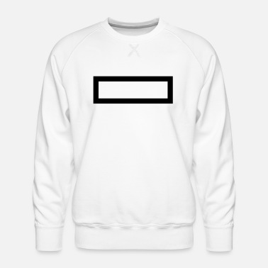 Rectangle Rectangle - Men's Premium Sweatshirt