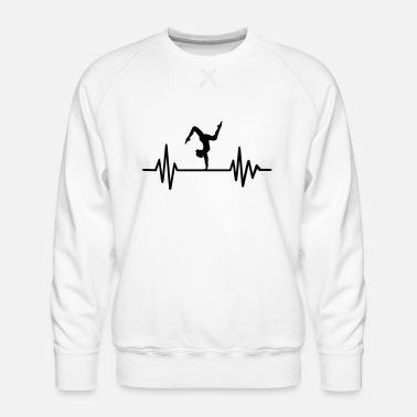 Floor Exercises Floor exercise - Men's Premium Sweatshirt
