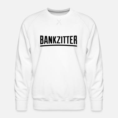 bankzitter Mannen premium T shirt | Spreadshirt