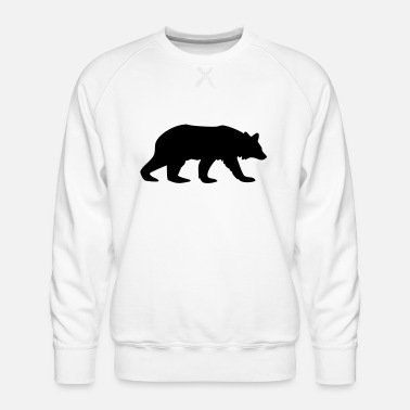 Camel bear animal - Men's Premium Sweatshirt