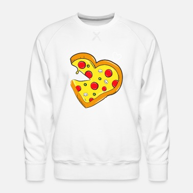 Partner Cardio pizza fastfood - salami partner shirt - Mannen premium sweater