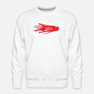 Infection infected - Men's Premium Sweatshirt
