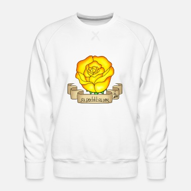 Rose yellow - Men's Premium Sweatshirt