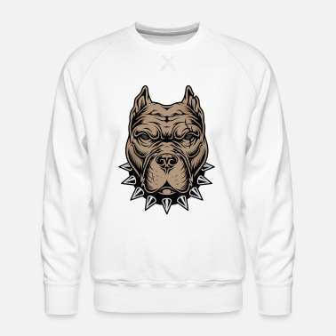 Aggressive Aggressive dog - Men's Premium Sweatshirt