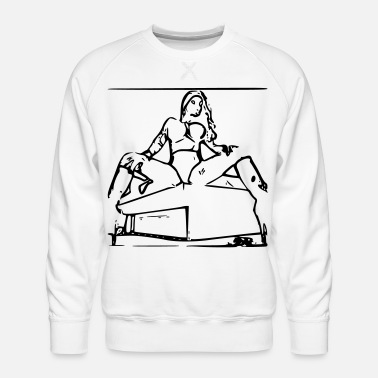 Erotic Erotic - Men's Premium Sweatshirt