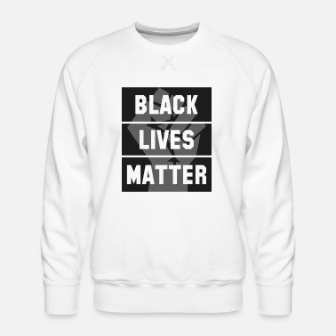 Black Lives Matter - Mannen premium sweater
