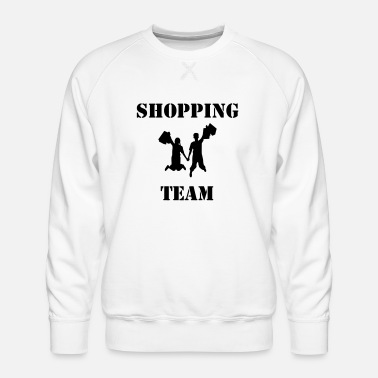 Tema Shopping team - Men's Premium Sweatshirt