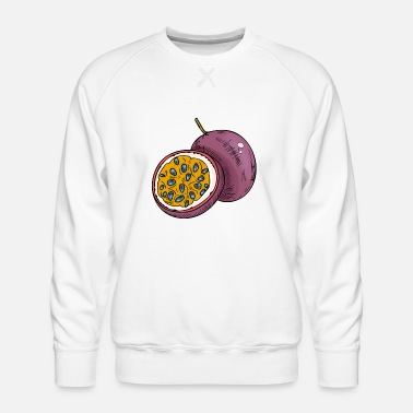 Fruit de la passion - Sweat ras-du-cou Premium Homme