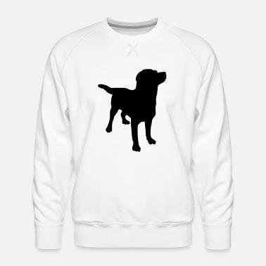 Owczarek Niemiecki Pies Bluza Męska Czerń S