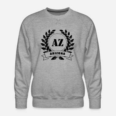 Arizona Laurel Wreath USA - Miesten premium-collegepaita