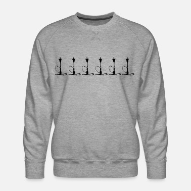 A Series Of Shisha series - Men's Premium Sweatshirt