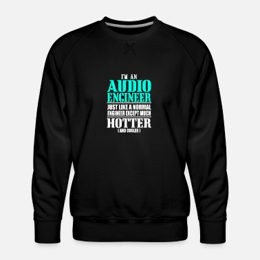 Audio AUDIO ENGINEER - Männer Premium Pullover