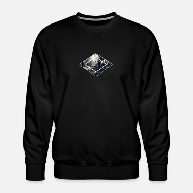 Forest Forest forests in the forest - Men's Premium Sweatshirt