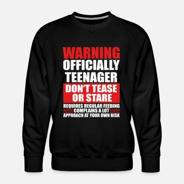 Teens 13th birthday teen gift - Men's Premium Sweatshirt