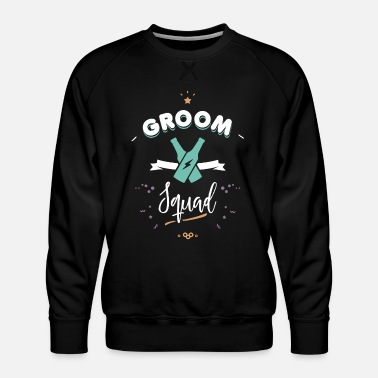 Anello Groom squad - Mannen premium sweater