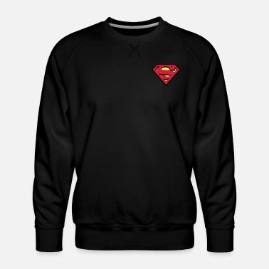 Superman S-Shield logo small - Mannen premium sweater
