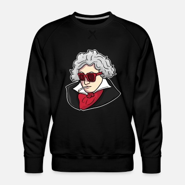 German Pianist Ludwig van Beethoven - Men's Premium Sweatshirt