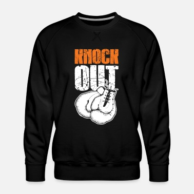 Knock Out Knock out fist boxing - Men's Premium Sweatshirt