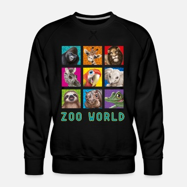 PD Moreno Zoo World 2 - Sweat ras-du-cou Premium Homme