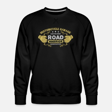 Motorcyclist Motorcyclists - Men's Premium Sweatshirt