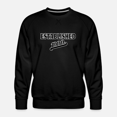 Established Established 1999 - Miesten premium-collegepaita