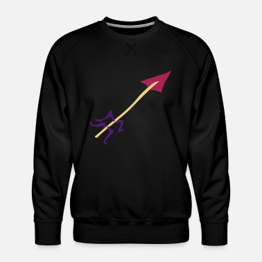 Water Underwear Symbol - Shooting Arrow - Men's Premium Sweatshirt
