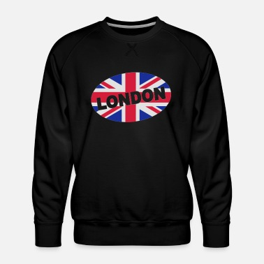 Glamour London City Great Britain - eushirt.com - Men's Premium Sweatshirt